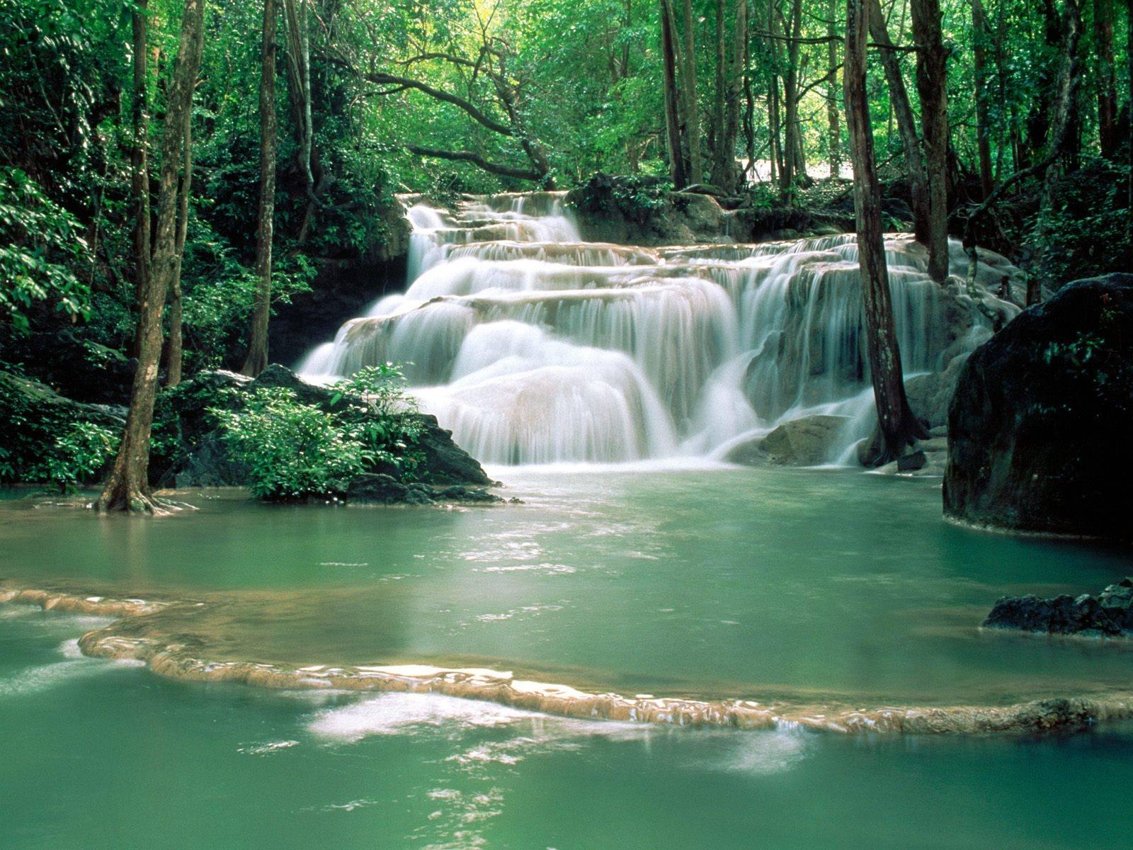 Kao20Pun20Temple20Waterfalls20Kanchanaburi20Region - waterfalls