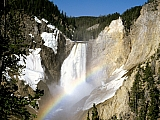Colors, Lower Falls, Yellowstone National Park