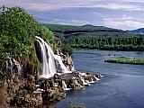 Fall Creek Falls and Snake River, Idaho