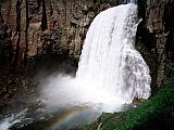 Rainbow Falls, Mammoth Lake, Sierra Nevada, California