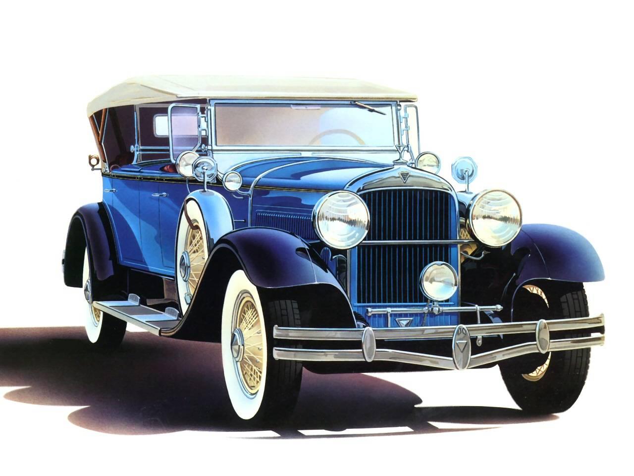 1929 hudson 4 door sport