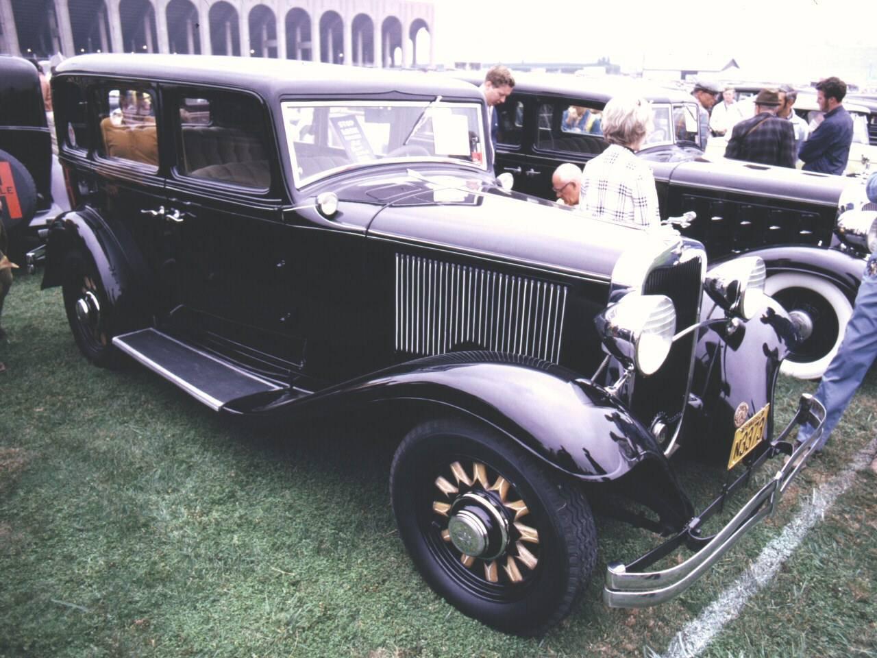 Voitures Anciennes 3 1932 Dodge Wiring Diagram 4 Door Sedan Black