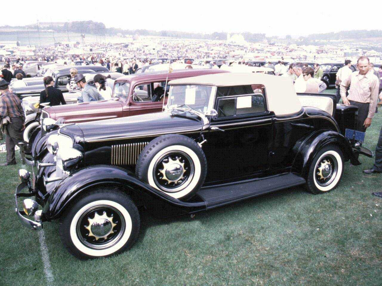 1932 plymouth cabriolet w rumble seat black